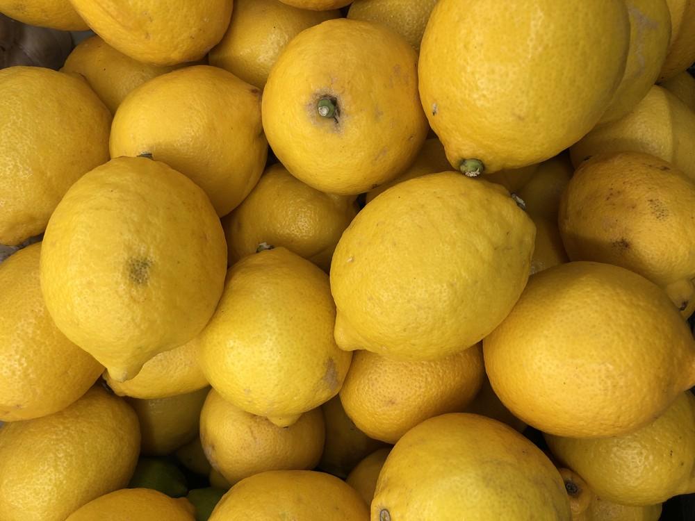 Lemon yellow each