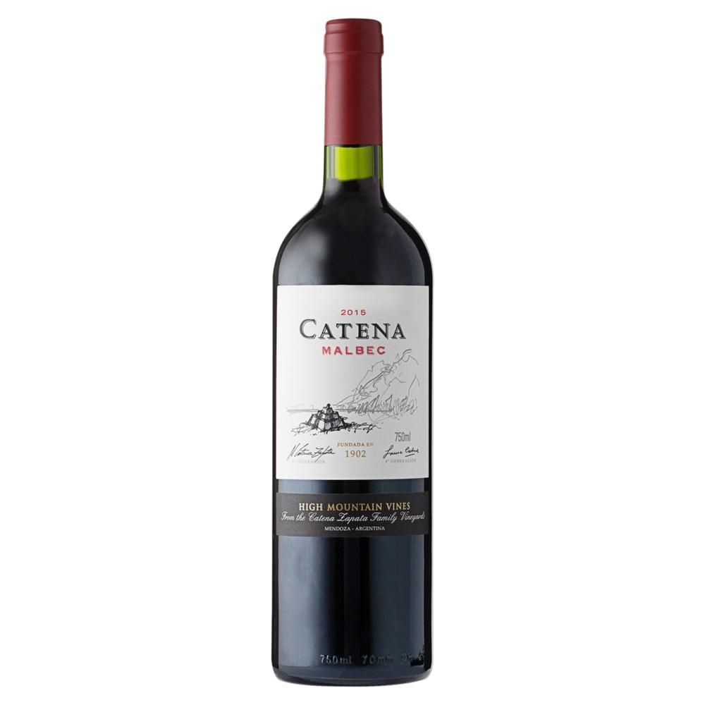 Vinho tinto argentino malbec