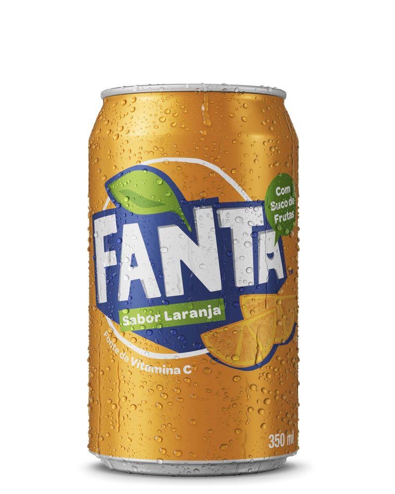 Refrigerante de laranja 350ml