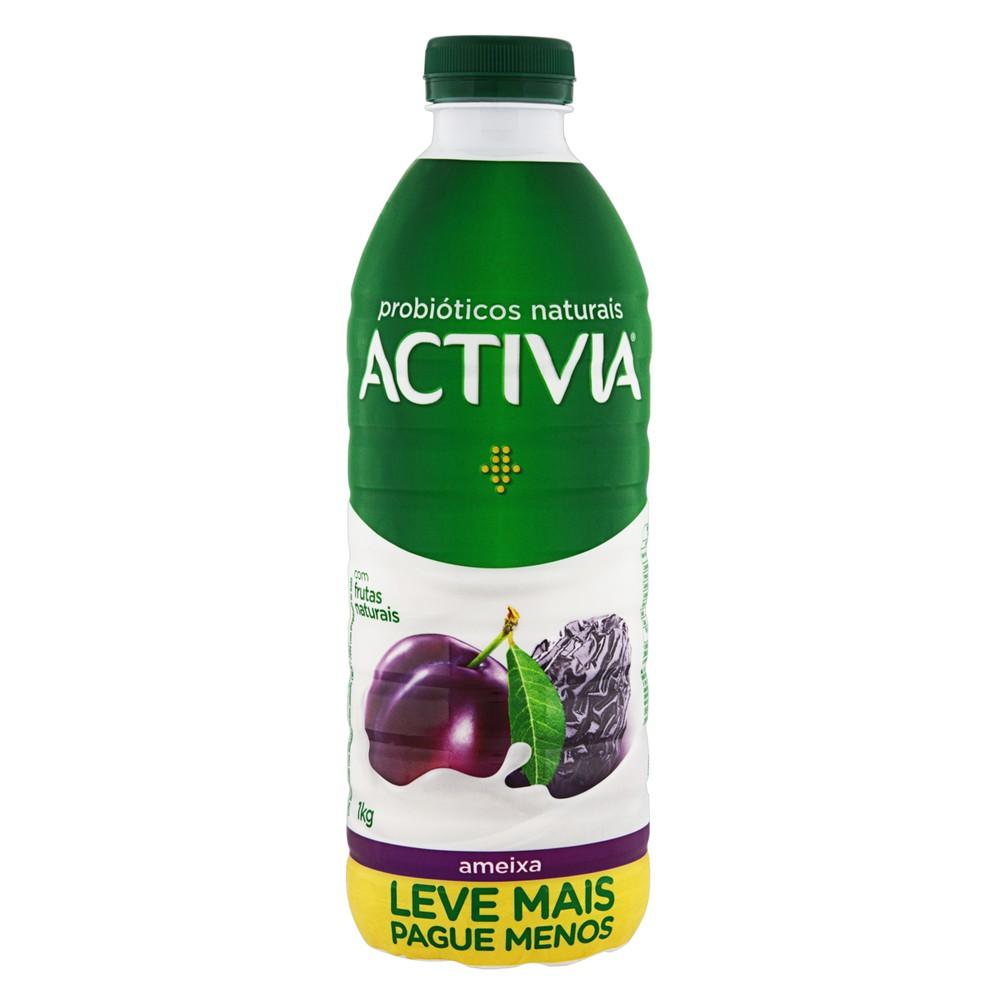 Iogurte probiótico líquido ameixa