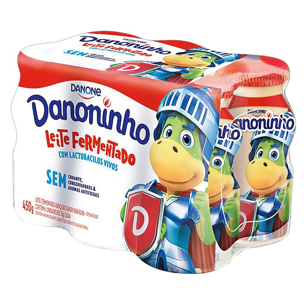 Leite fermentado desnatado baunilha Danoninho