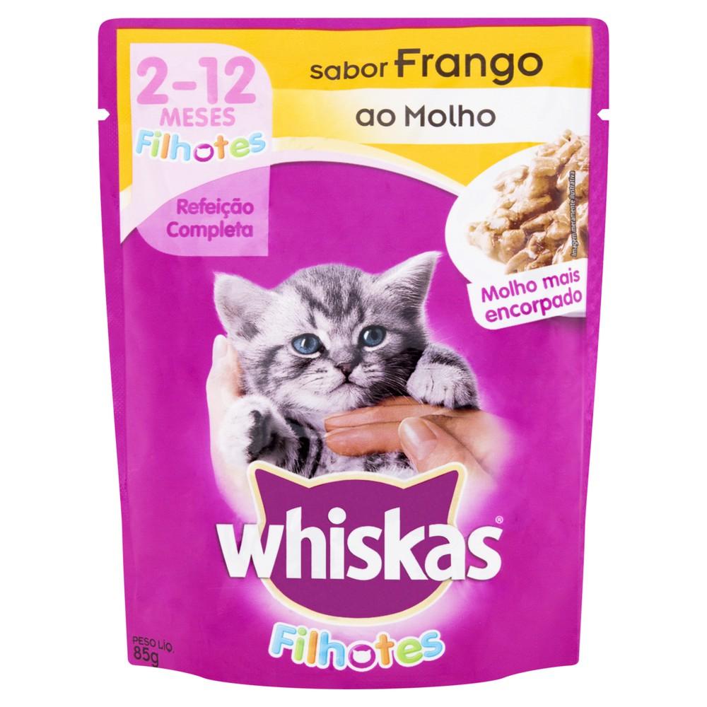 Alimento para gatos filhotes frango ao molho 85g