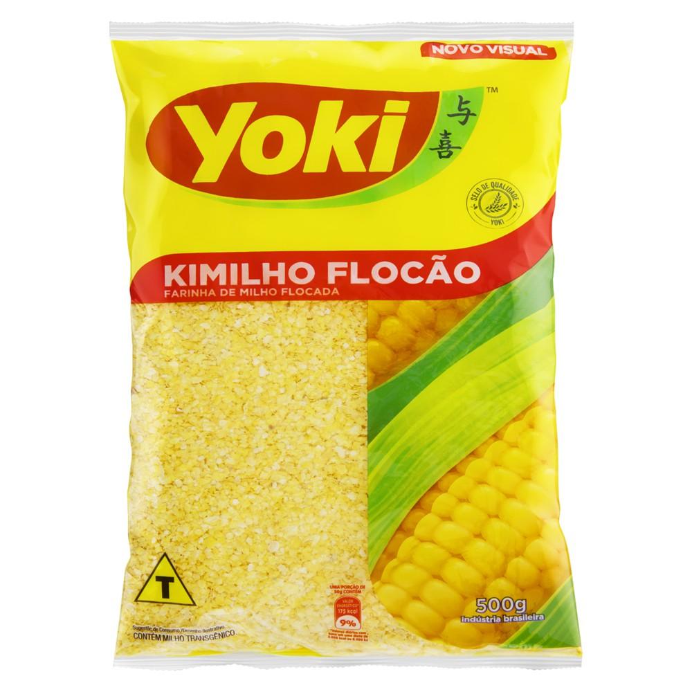 Farinha de milho kimilho flocão