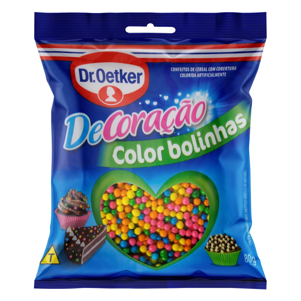 Confeito Color Bolinhas Dr. Oetker DeCoração