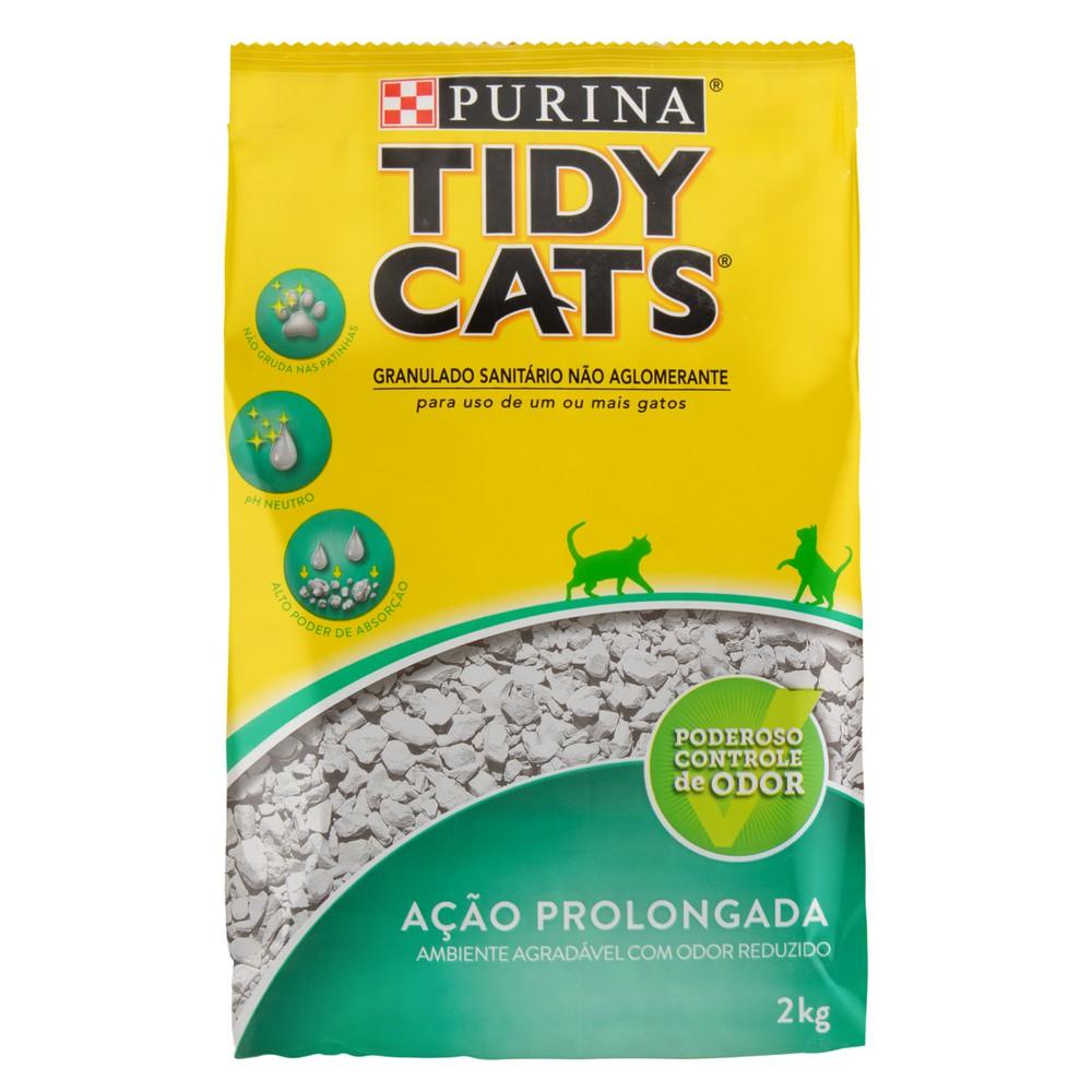 Granulado sanitário para gatos Tidy Cats 2kg