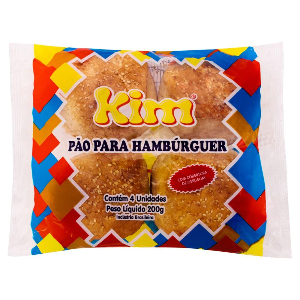 Pão para hambúrguer com gergelim