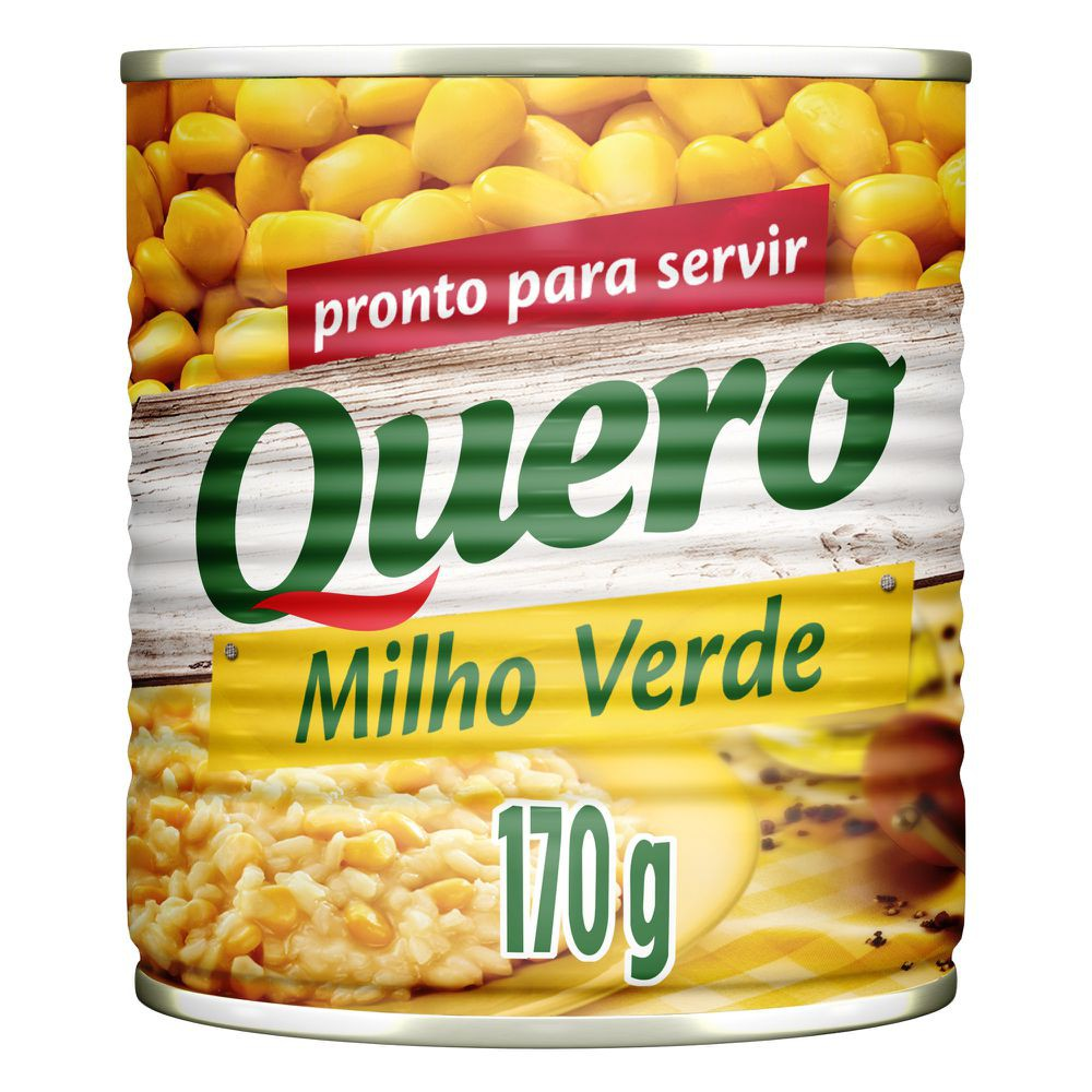 Milho verde em conserva Lata 170g