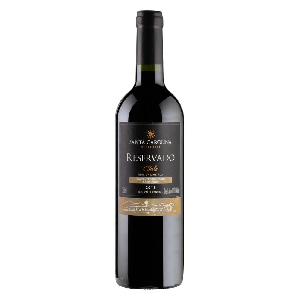 Vinho tinto chileno Reservado cabernet carménère