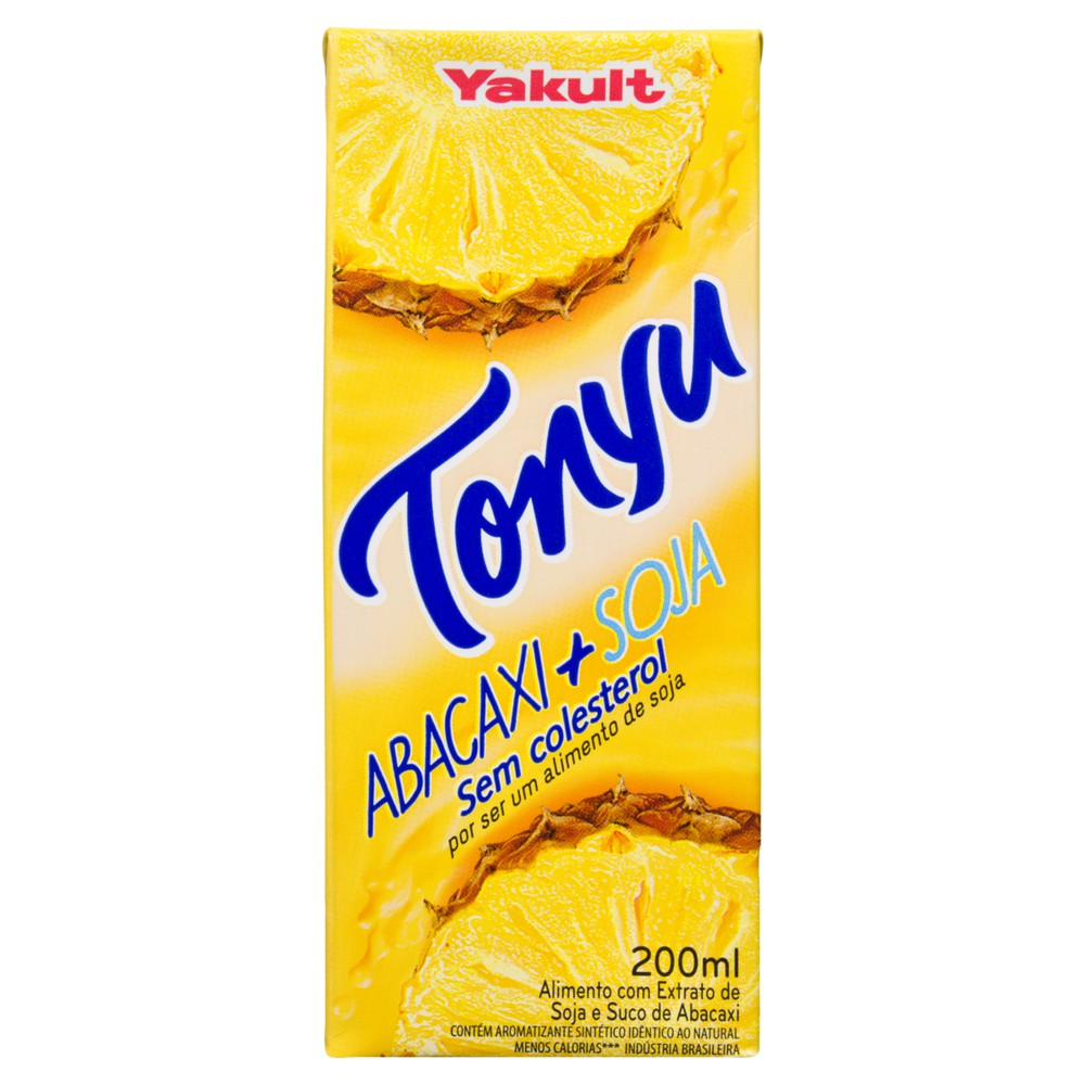 Bebida à base de soja abacaxi Tonyu