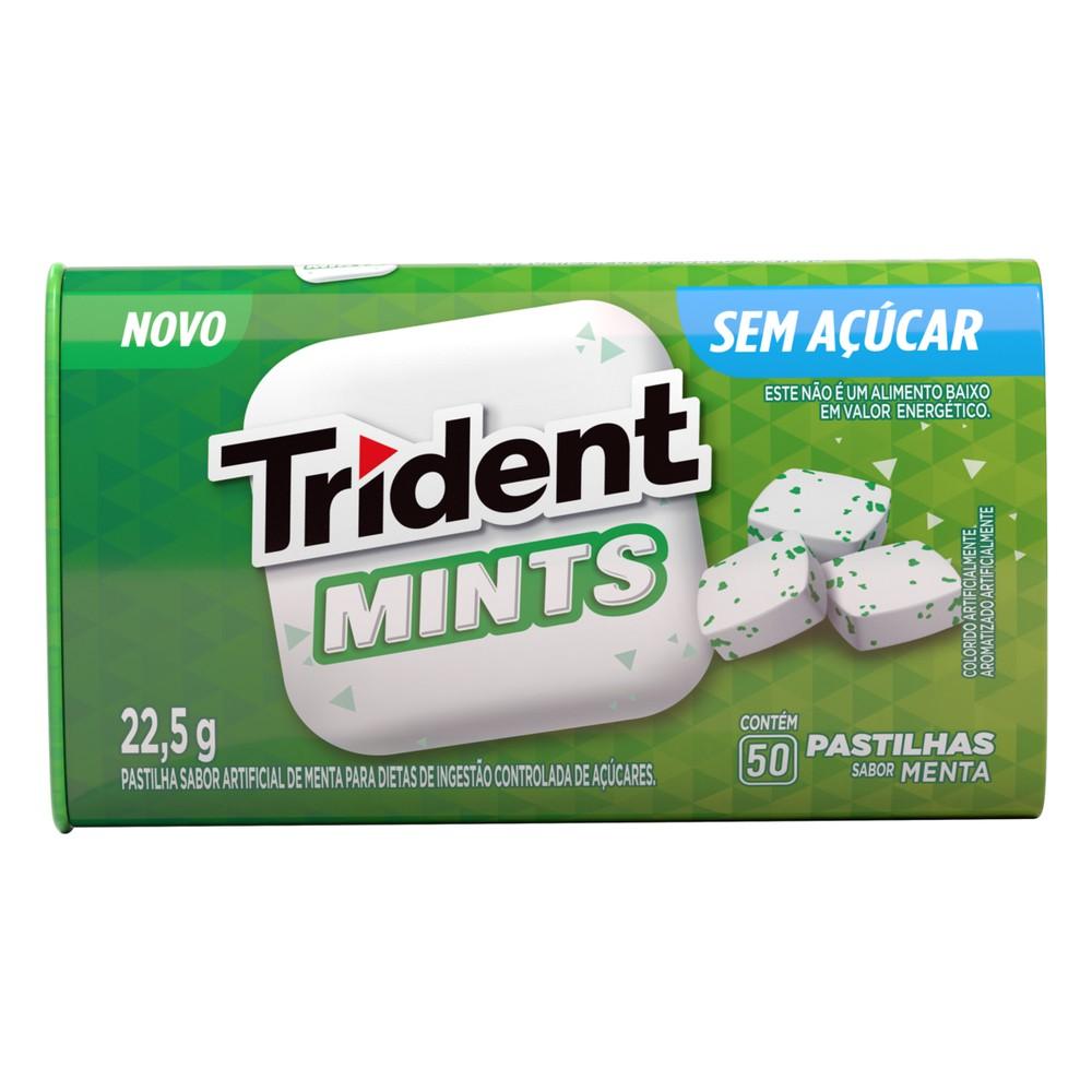 Pastilha sabor menta Mints