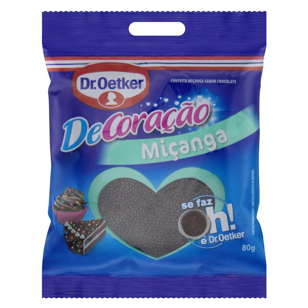 Confeito Miçanga Chocolate Dr. Oetker DeCoração