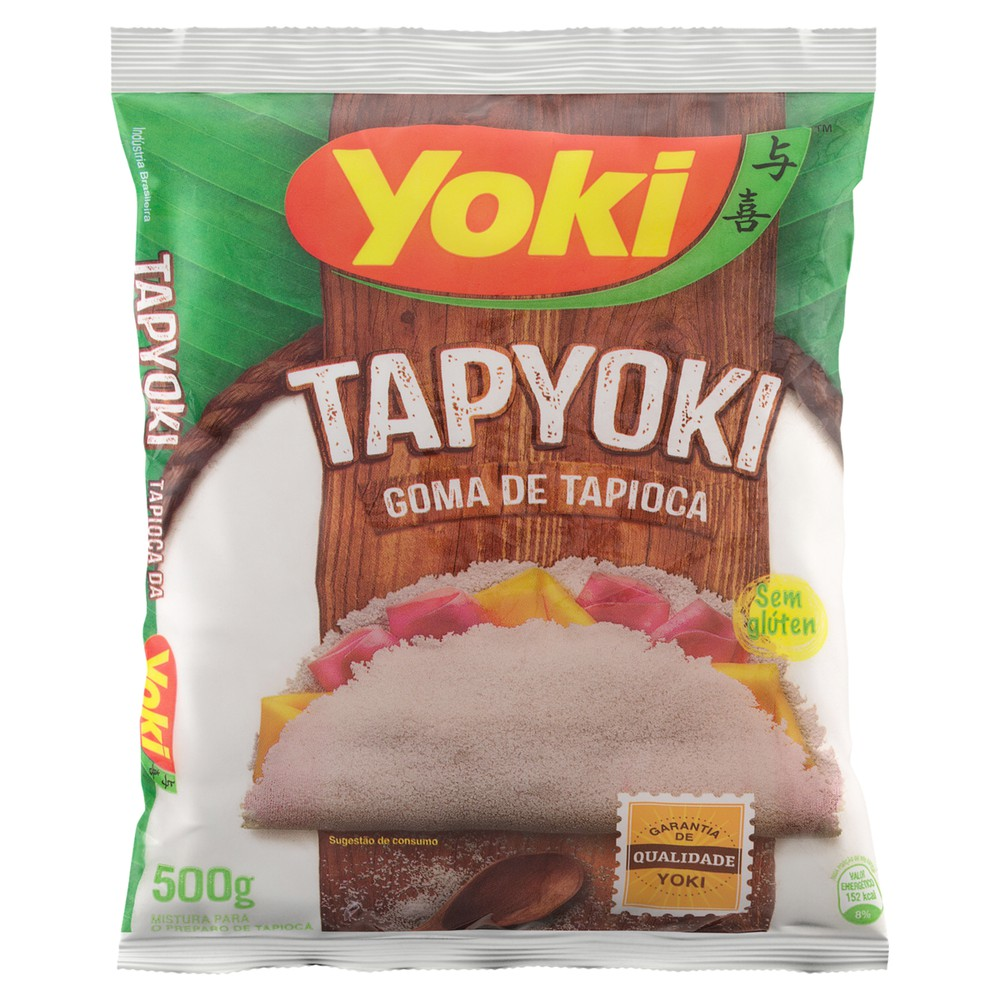 Goma de tapioca hidratada