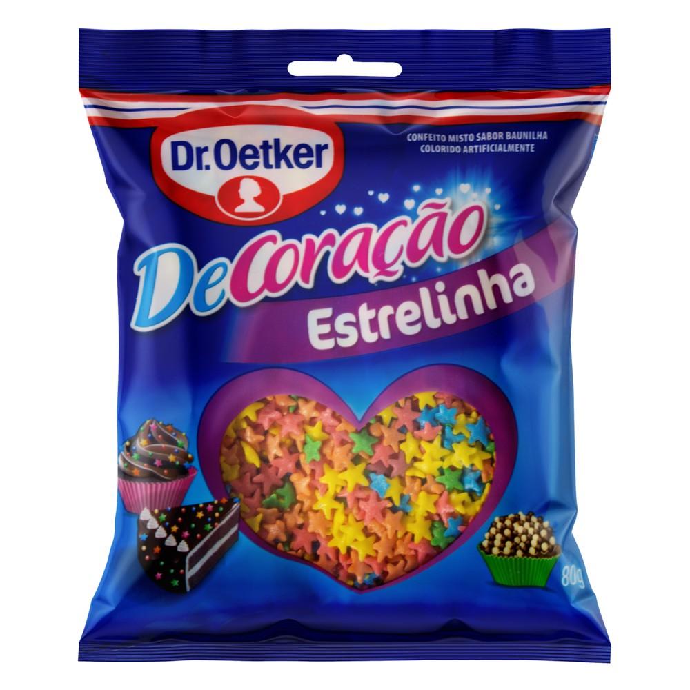 Confeito Estrelinha Baunilha Dr. Oetker DeCoração