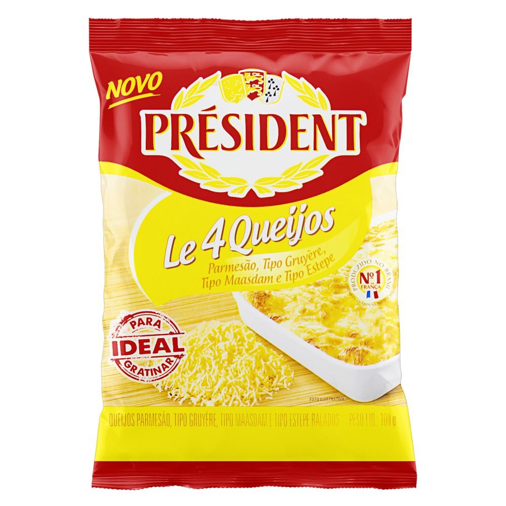 Queijos ralados le 4 queijos