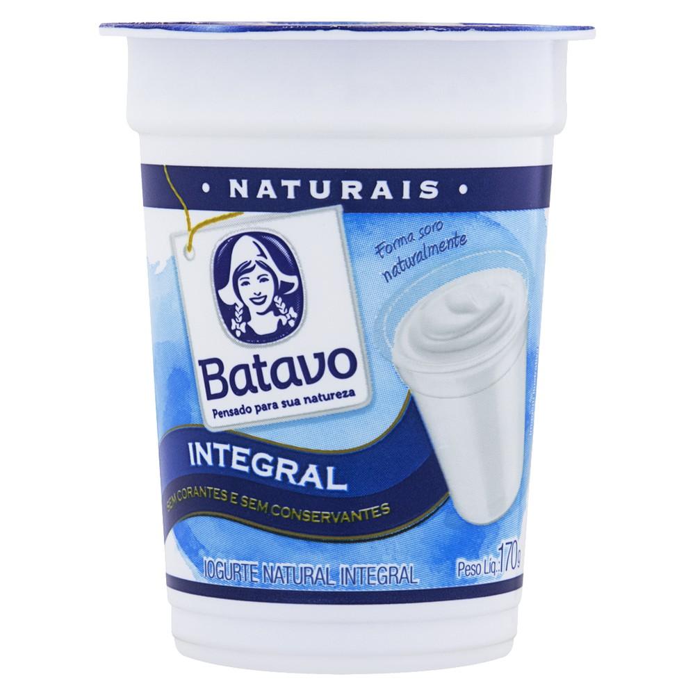 Iogurte integral natural