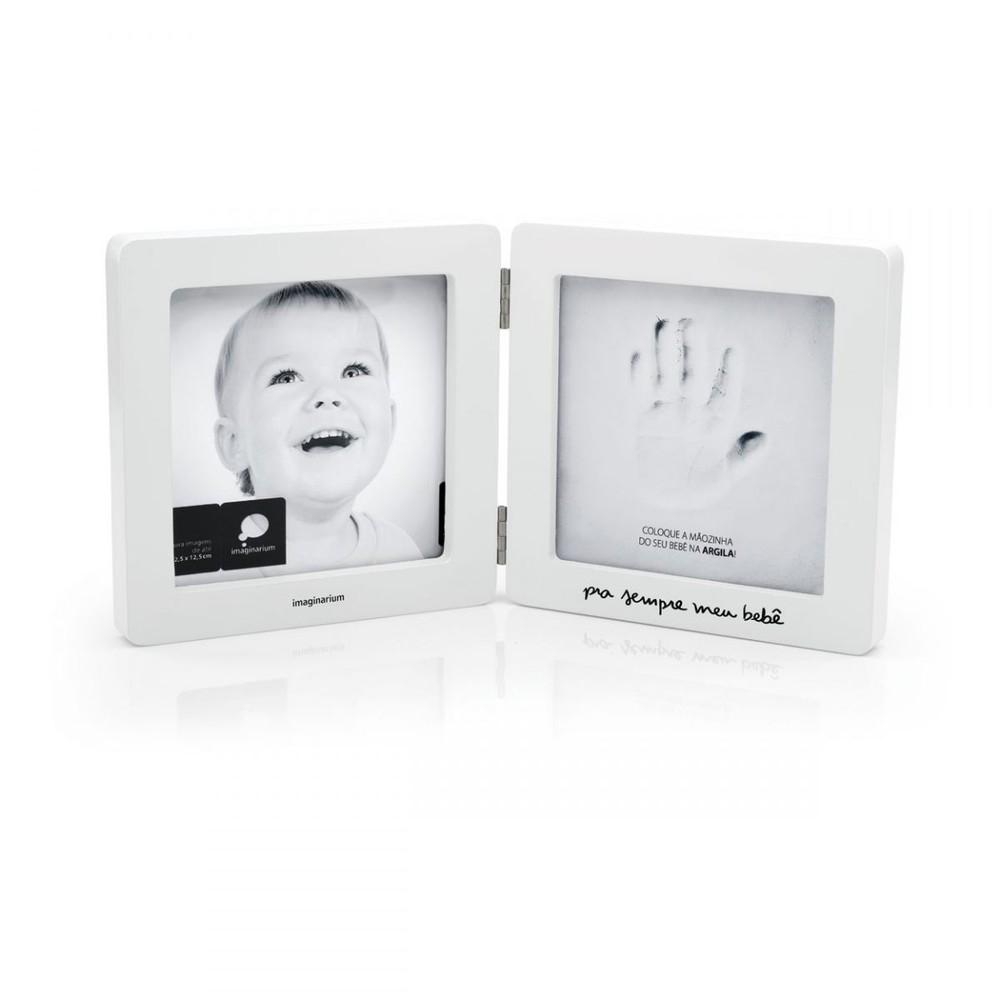 Porta-retrato registro mão de bebê 32 CM X 16 CM X 2 CM X 5