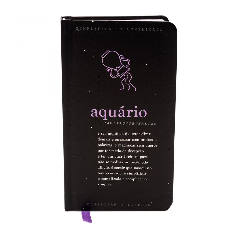Caderno akapoeta aquario