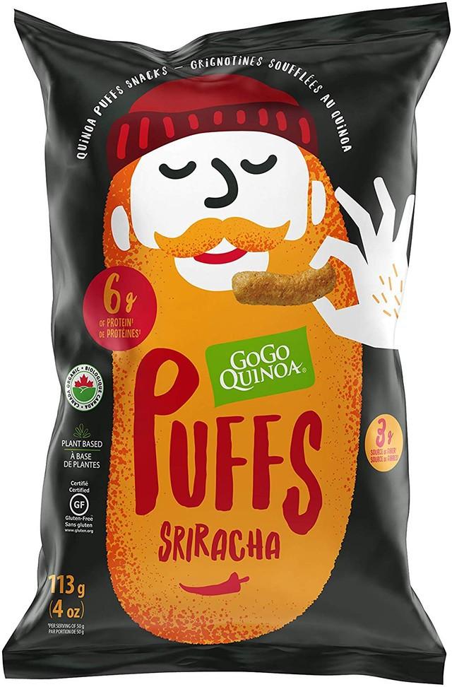 Sriracha Puffs