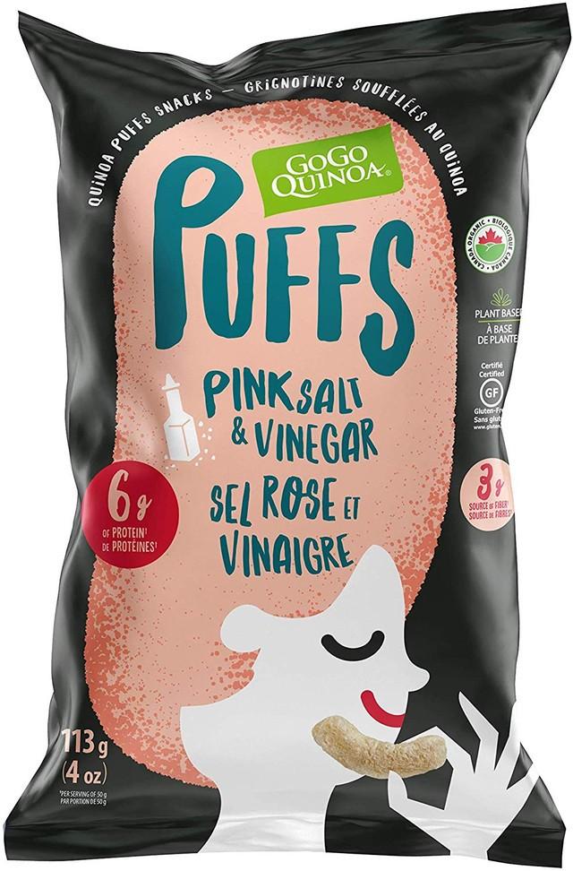 Pink Salt & Vinegar Puffs