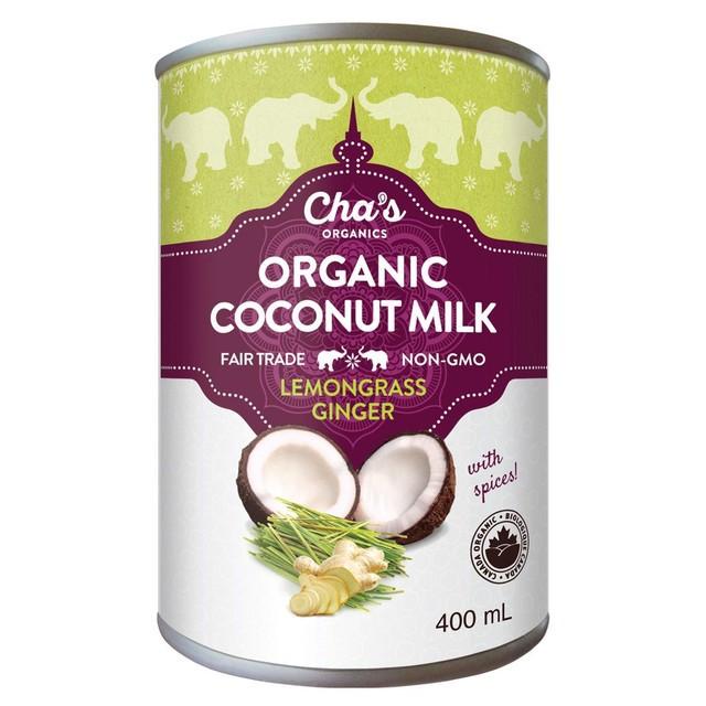 Lemongrass Ginger Coconut Milk