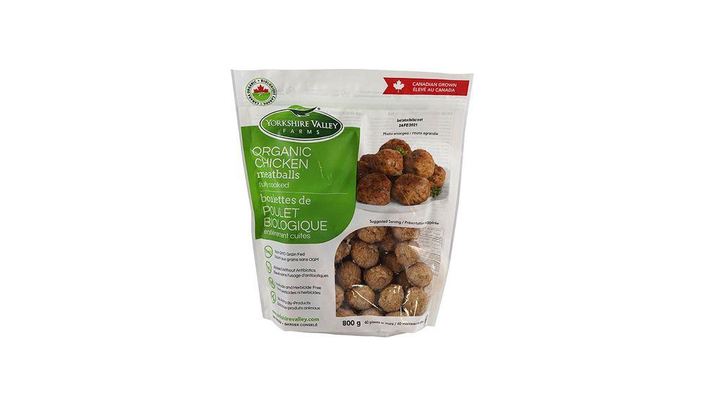 Organic chicken meatballs