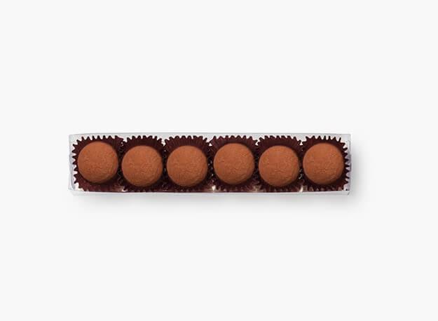 6 truffes du jour - noir