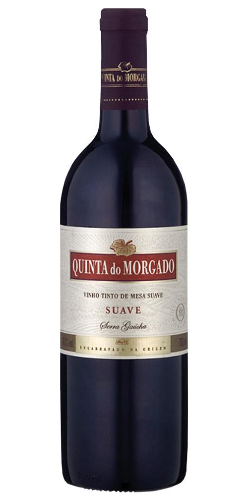 Vinho tinto brasileiro Quinta do Morgado suave