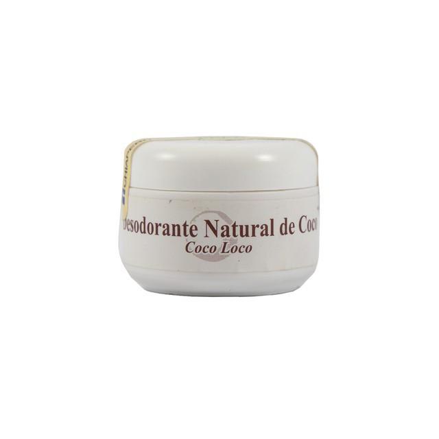 Desodorante natural de coco