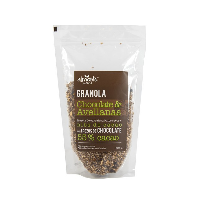 Granola chocolate & avellanas