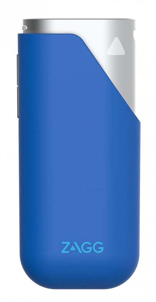 Bateria externa amp 3 zagg 3.000 mah azul Caja 100g