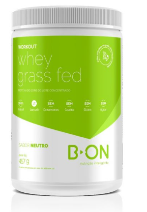 Workout whey grass fed neutro