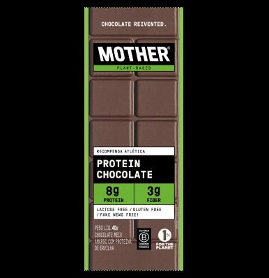 Chocolate proteico barra proteica
