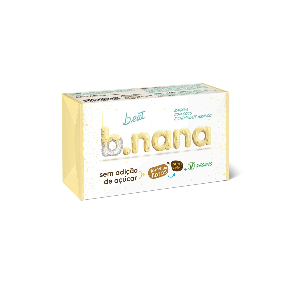Nana coco com chocolate branco pack