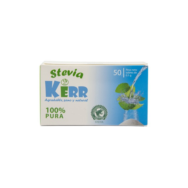 Stevia pura - 50 Sobres