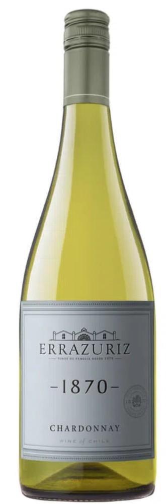 Vinho branco Errazuriz 1870 chardonnay 750ml