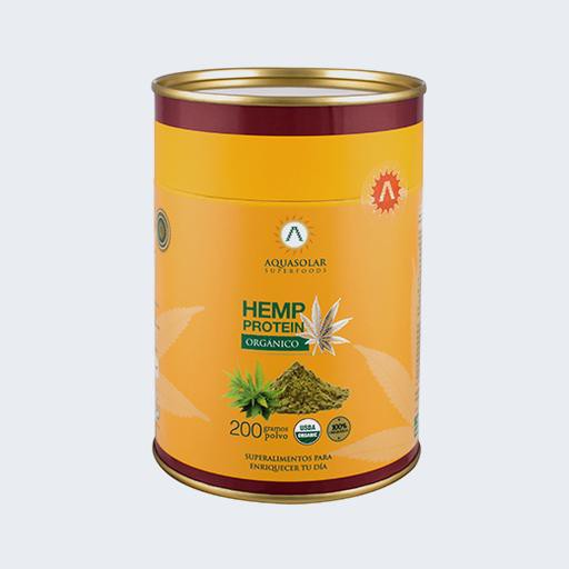 Proteína de hemp orgánica