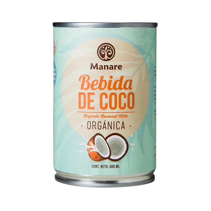 Leche de coco orgánica