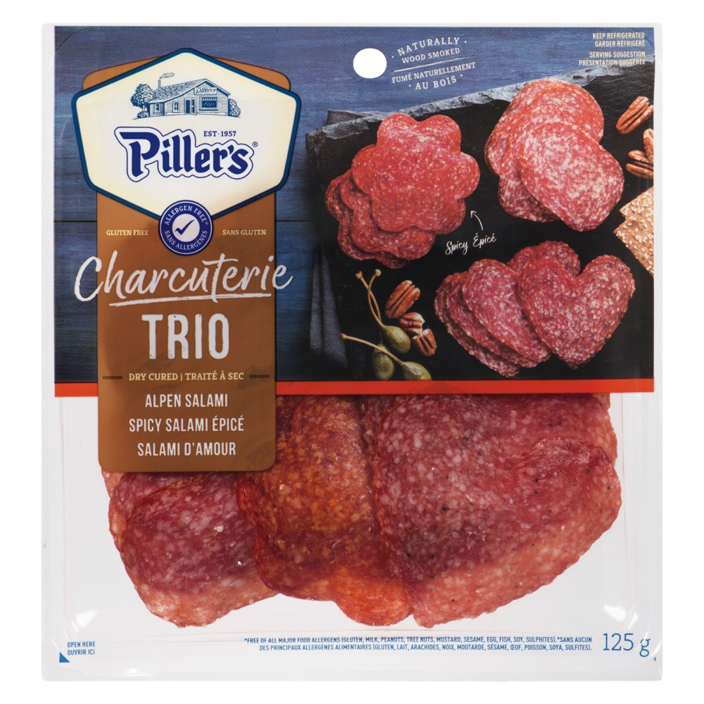 Charcuterie Trio Spicy Shaped