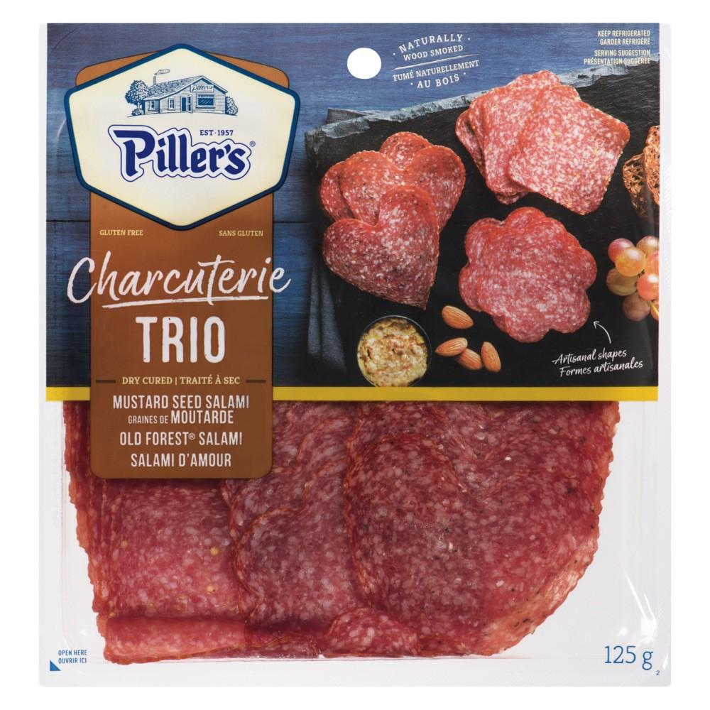Charcuterie Trio Shaped