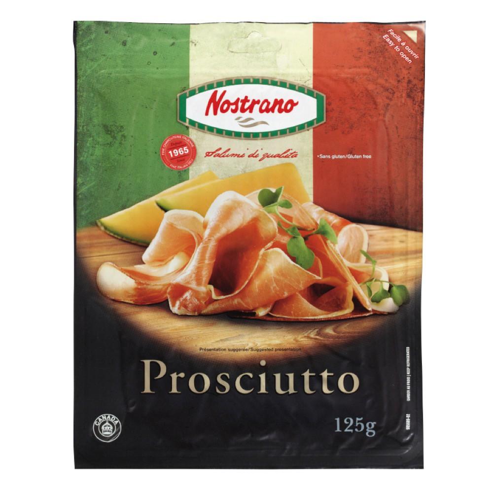 Sliced mild proscuitto
