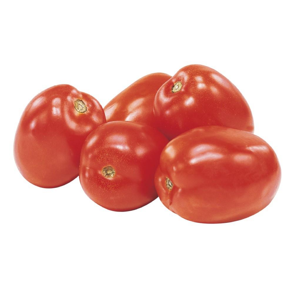 Plum Roma tomatoes
