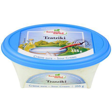 Tzatziki sour cream dip