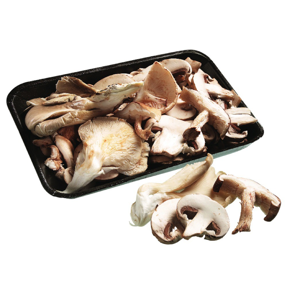 Exotic mix mushrooms