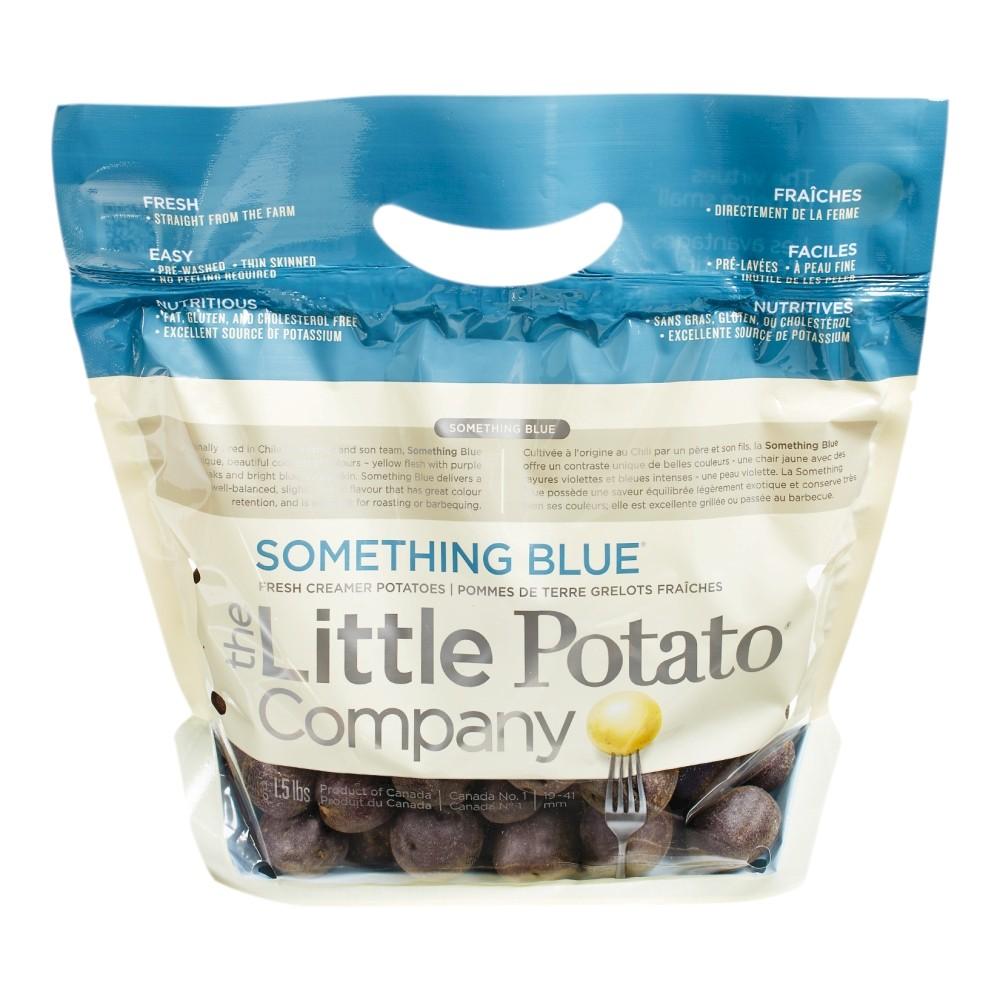 Something Blue Potatoes