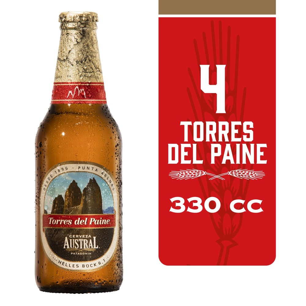Cerveza helles bock Torres del Paine