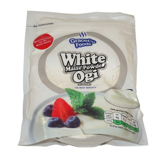 White maize powder (ogi)