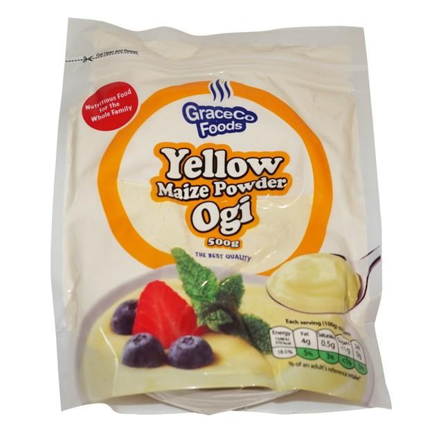 Yellow maize powder (ogi)