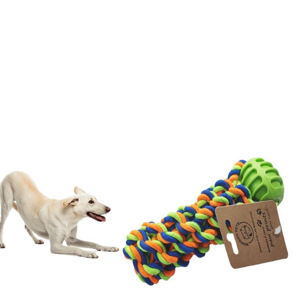 Juguete de cuerda con pelota de goma