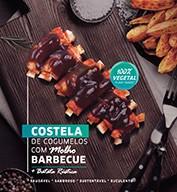 Costela de cogumelos com molho barbecue + batata rústica