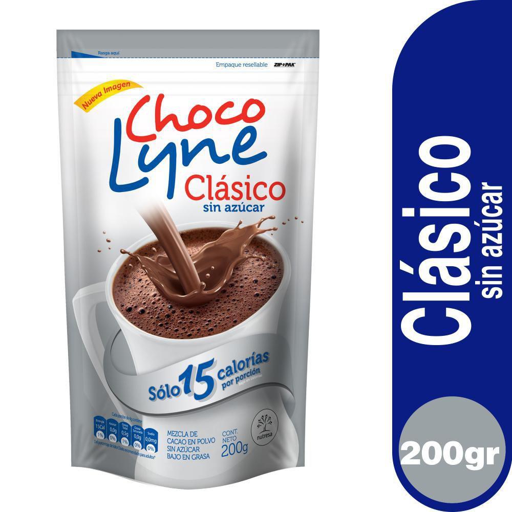 Chocolate clásico sin azúcar